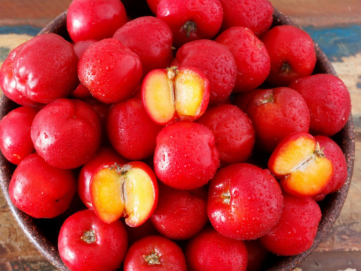 Acerola: il frutto della Vitamina C