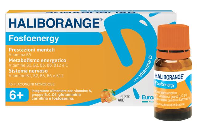 HALIBORANGE Fosfoenergy 10fl.
