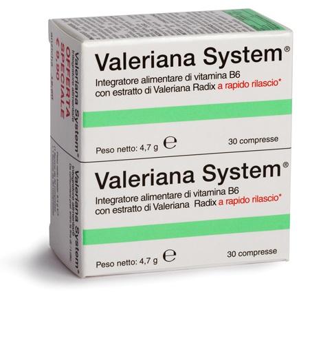 VALERIANA SYSTEM 30cpr+30cpr