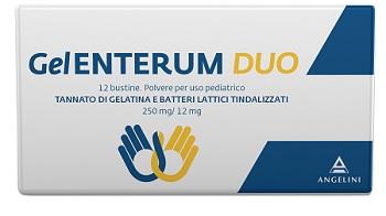 GELENTERUM DUO 12 Bust.250mg