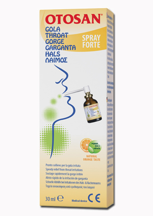 OTOSAN Gola Spray Fte 30ml