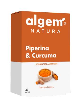 ALGEM PIPERINA&CURCUMA 45 Cps