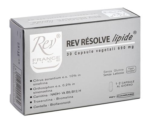 REV Resolve Lipide 30 Cps